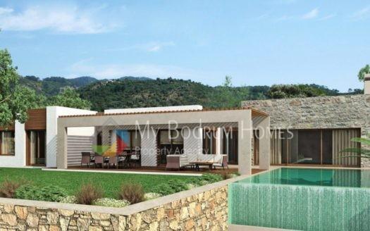 Konacık 'ta Satılık Deniz Manzaralı Yüzme Havuzlu Mükemmel Villa