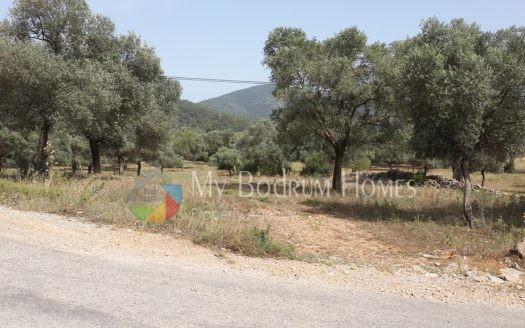 Bodrum Kızılağaç köy içi konut imarlı arsa