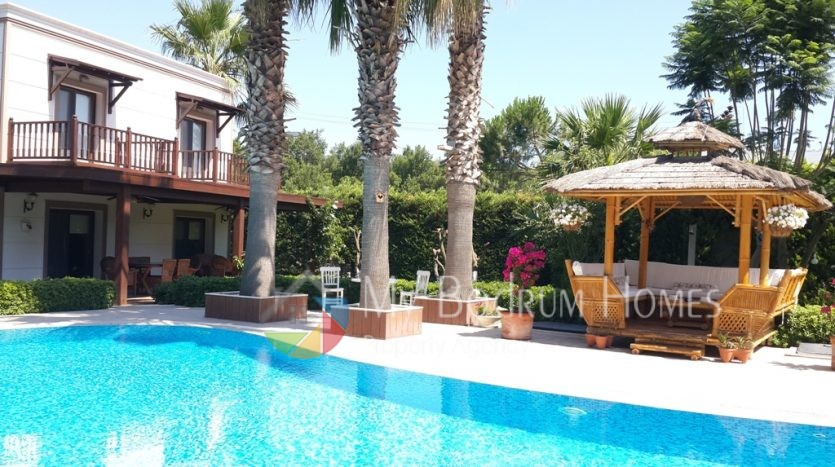 For Rent detached Luxury Villa in bodrum