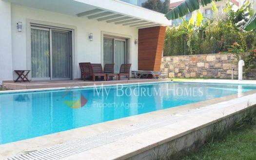 Göltürkbükü 'nde Sezonluk Kiralık özel havuzlu lüks müstakil villa