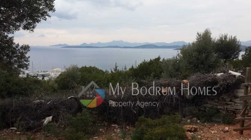 for sale land in bodrum center