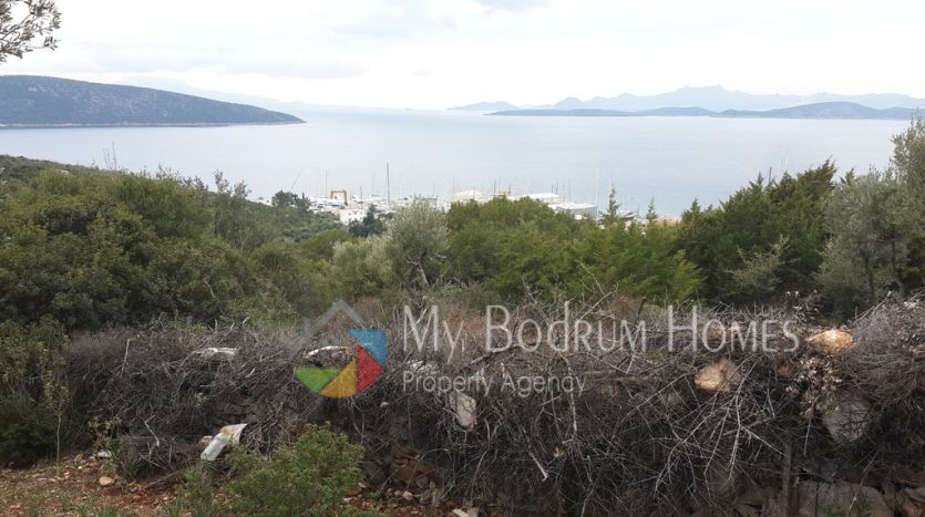 for sale land in bodrum