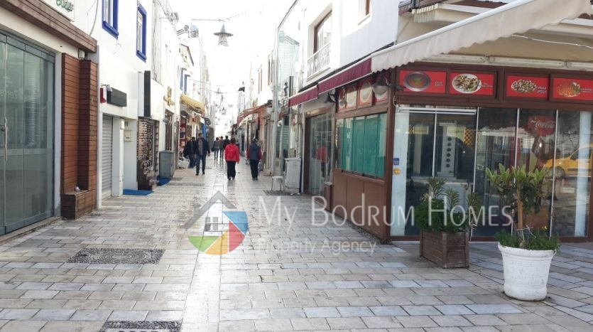 For rent shop Office in Bodrum Bar Street