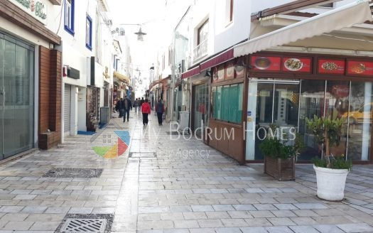 for sale office in bodrum bar street