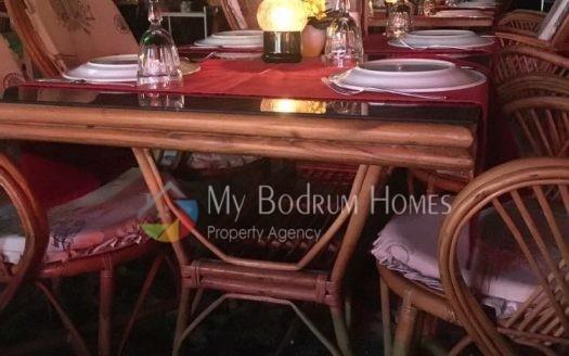 Bitez 'de full eşyalı devren kiralık restaurant