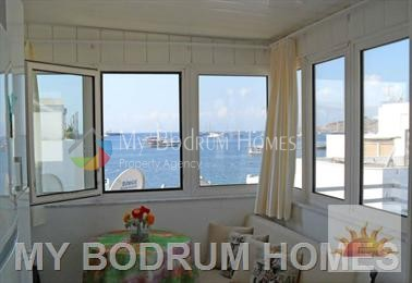 office and house for sale in bodrum bar street