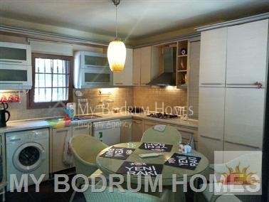 seasonal rental villa in bodrum center