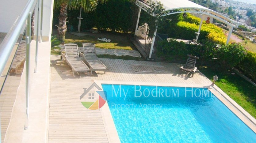 For Sale Triplex Villa in Bodrum Centre