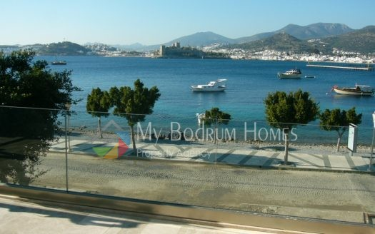 For Sale Seaside Duplex Villa in Bodrum Centre