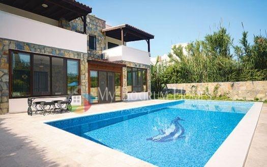 Detached Villa For Sale in Bodrum Bitez