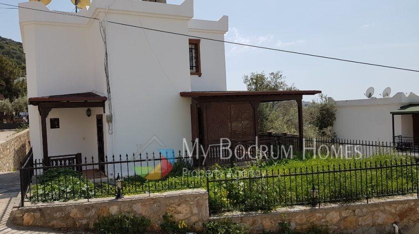 Bodrum Umurca'da Satılık Tripleks Villa Denize Yakın
