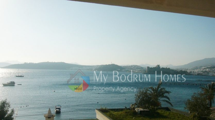 For Sale Sea view Residence in Bodrum seaside 3 Rooms