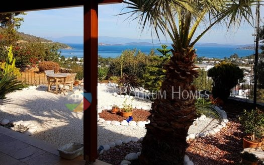Detached Triplex Villa with garden For Sale in Bodrum Torba