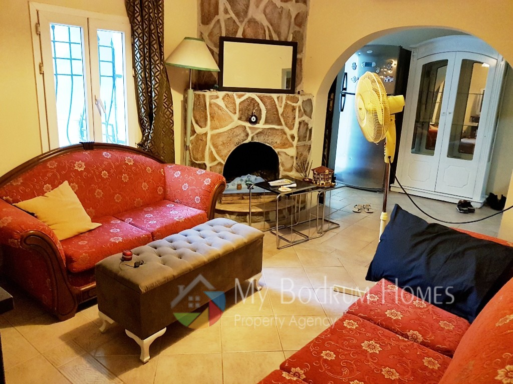 two apartment house for sale in bodrum center