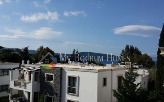 Sea View Apartment House For Sale in Bodrum Center