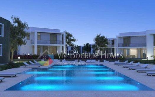 Bodrum Torba'da Satılık Site içi Manzaralı ve Havuzlu Villa