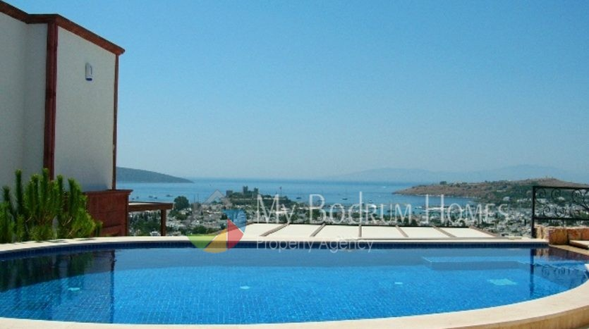 Wonderful Villa with swimming pool and Sea view in Bodrum Center