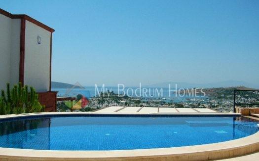 Mükemmel Bodrum Manzaralı Havuzlu Villa